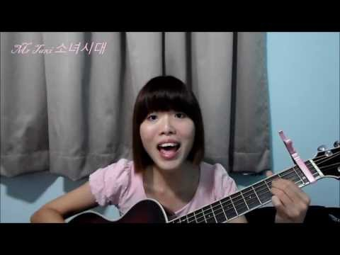 SNSD 소녀시대 Mr Taxi Acoustic Cover (Korean ver.) Girls' Generation 130601