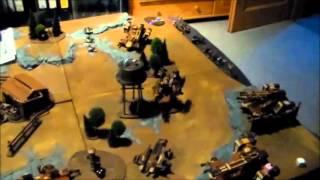 battlereport 14 dmonen vs tau 1499 p
