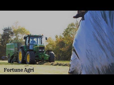 Baling 2018-Fortune Agri-John Deere 7810