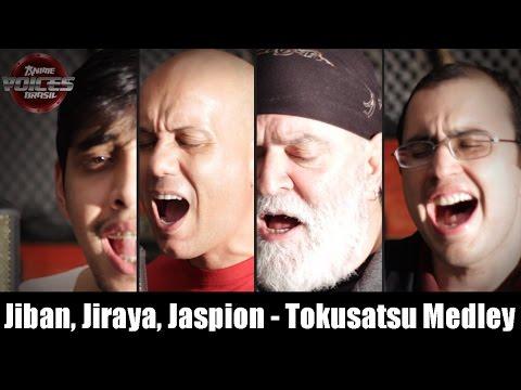 Jiban, Jiraya, Jaspion - Tokusatsu Medley