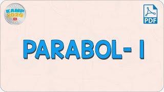 Parabol- 1  AYT Matematik 2020
