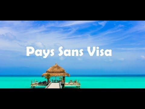 20 endroits paradisiaques, sans demande de visa pour les Marocains