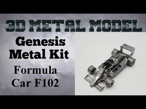 Genesis Metal Model Build - Formula Car F102