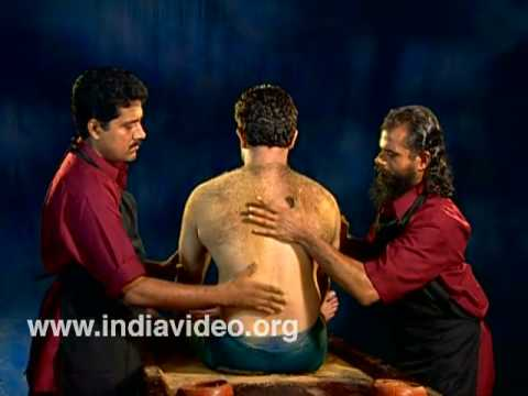 Udwartana Ayurvedic massage treatment