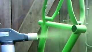 Порошковая покраска велорамы, металлоизделий(, 2013-04-09T15:24:46.000Z)