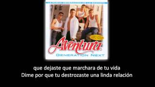 Aventura - Amor Bonito (lyric - letra)