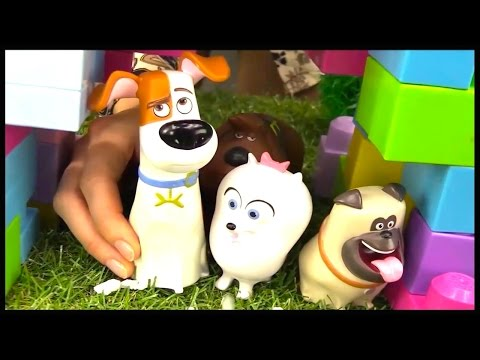 DOGS HOUSE Cartoons for Children - The Secret Life of Pets Videos for Kids Cartoons