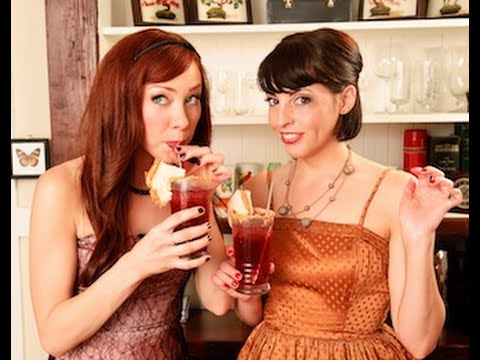 Drinks with Alie & Georgia - The Peanut Butter & Jealous Cocktail