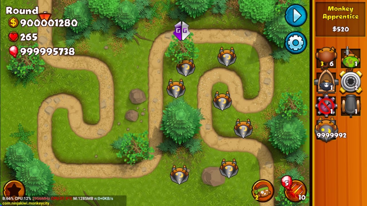 Bloons monkey city hacked pc