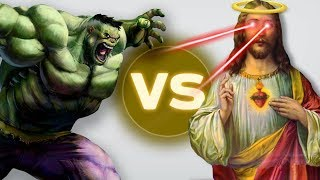 HULK VS JESUS - Ultimate Epic Battle Simulator Gameplay