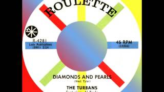 DIAMONDS AND PEARLS, The Turbans, Roulette #4281  1960