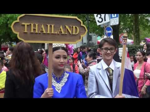 2016 Kinderumzug Zurich TKG - Thailand