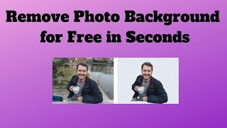Remove Photo Background for Free in Seconds