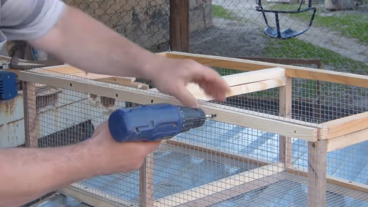Клетки для цыплят своими руками видео фото 954