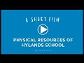 Physical Resources of Hylands School - Business Studies Coursework (4K)