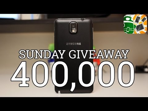 Samsung Galaxy Note 3 International Giveaway! [400k YouTube Subscribers]