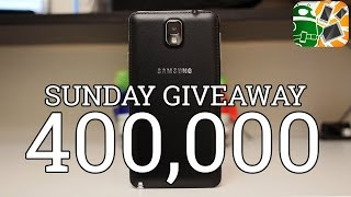 Samsung Galaxy Note 3 International Giveaway [400k Subscribers- Thank You!]