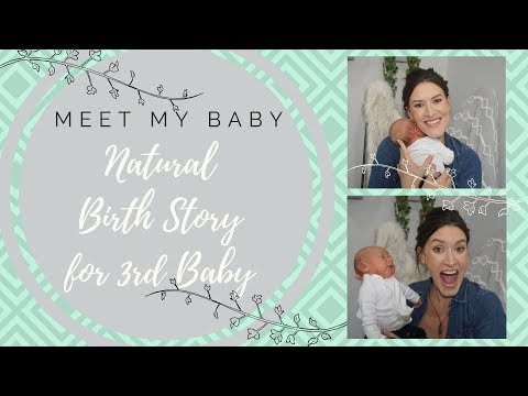 Natural Birth with Midwife: Meet My Baby