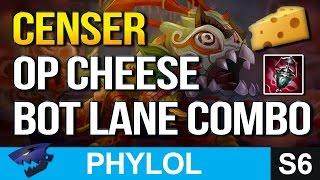 STRONG CENSER CHEESE Bot Lane Combo (League of Legends)