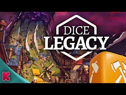 Dice Legacy : Dédé construit et gère une ville médiévale dans un anneau-monde perdu dans l'espace