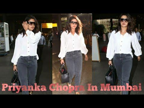 Priyanka Chopra's Casual Look At Mumbai Airport | Priyanka Chopra | Airport Look Mp3