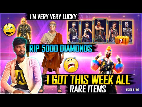 I Got This Week All Bundels,New Diamonds Royale Bundel,Super Hacker Store Spin All | Free Fire Tamil