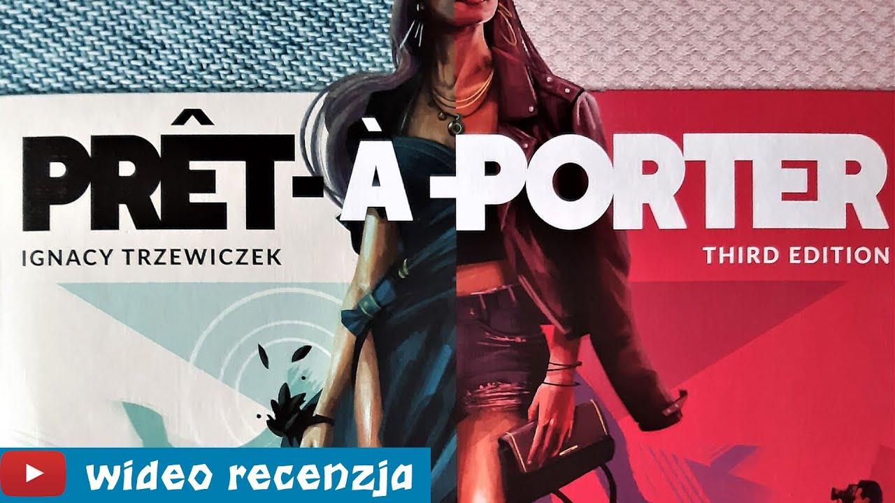 Pret-a-Porter - gra planszowa w świecie mody - RECENZJA