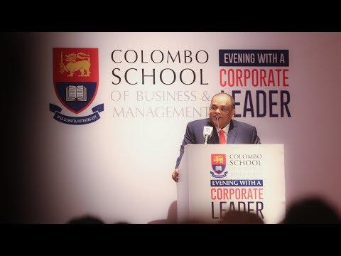 Mr. Dhammika Perera | Chairman/Managing Director Vallibel One PLC