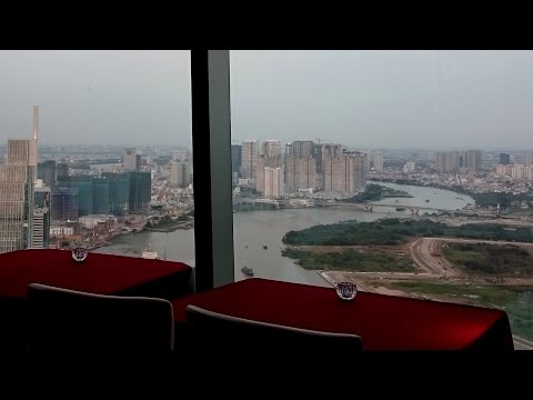 Café EON - Level 50-51-52 Bitexco Financial Tower | Travel in Saigon - HoChiMinh City 2017