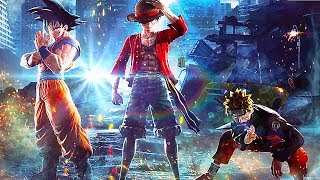 JUMP FORCE - Luffy/Goku/Naruto Vs. Frieza Fight Gameplay Demo (E3 2018)