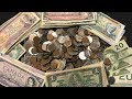 Canadian Coin Collection Treasure Search - Rare Coins & Currency Found!!!