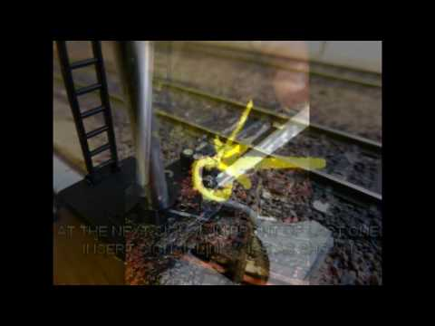 Building A Model Railway - Scenics (TrainTech Sensor Signals Installation)