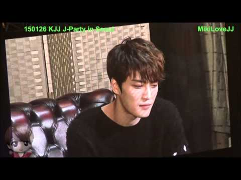 [Fancam] 150126 J-Party In Seoul - chat with guests