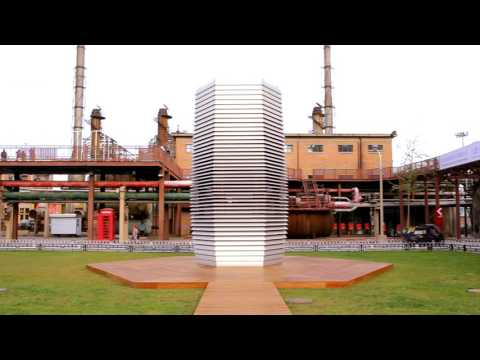SMOG FREE PROJECT by Daan Roosegaarde in Beijing - clean air parks in China [OFFICIAL MOVIE]