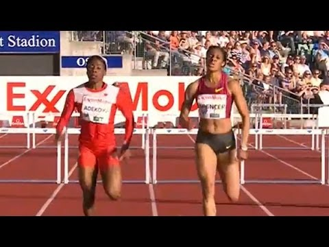Spencer barely beats Adekoya in 400m hurdles  Universal Sports