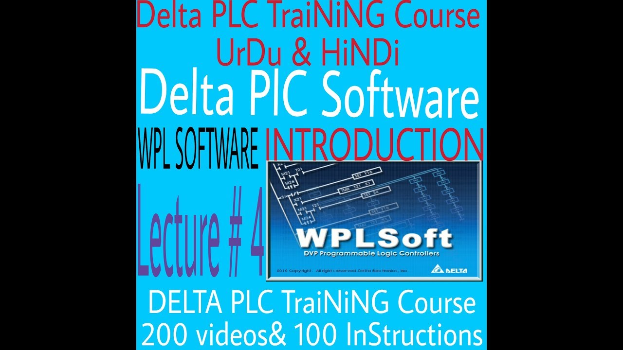 Delta plc programming tutorial for counter! Part-4 youtube.