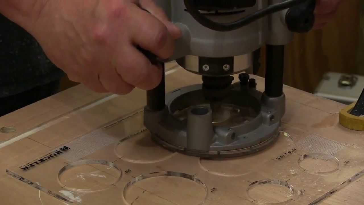 rockler circle grommet router template review newwoodworker youtube