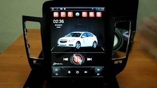 видео Штатная магнитола Chevrolet Cruze