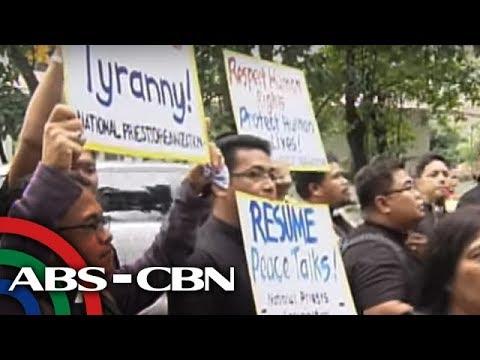 Bandila: Mga pari, nagprotesta sa DOJ