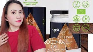 ALDOUS BIO ORGANIC COCONUT OIL REVIEW Best organic coconut Oil Gandang Filipina sa España