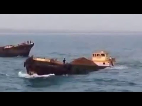 LIVE VIDEO OF SHIP SINKING............REDI PORT