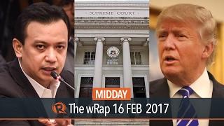Supreme Court, Trillanes, Trump | Midday wRap