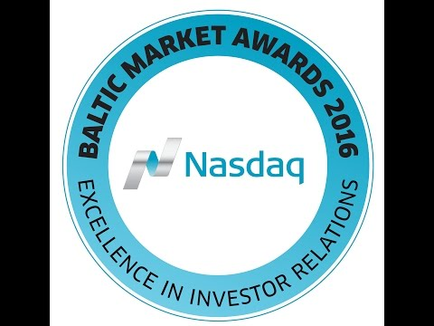 Baltic Market Awards 2016 ceremony