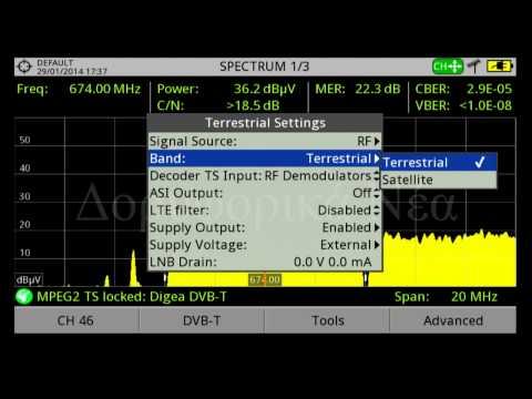 Promax HD Ranger 2 -- Λειτουργίες - Μετρήσεις