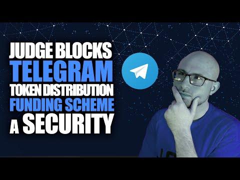 Judge Blocks Distribution of the Telegram $GRAM Token, Investors Start Exiting.