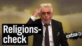 Experte für Religionen Heinz Strunk
