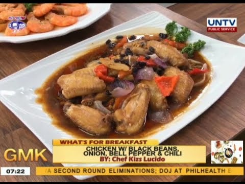 Chicken With Black Beans, Onion, Bell Pepper & Chili | What's For Breakfast