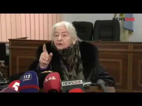 Валентина Бузина жестко