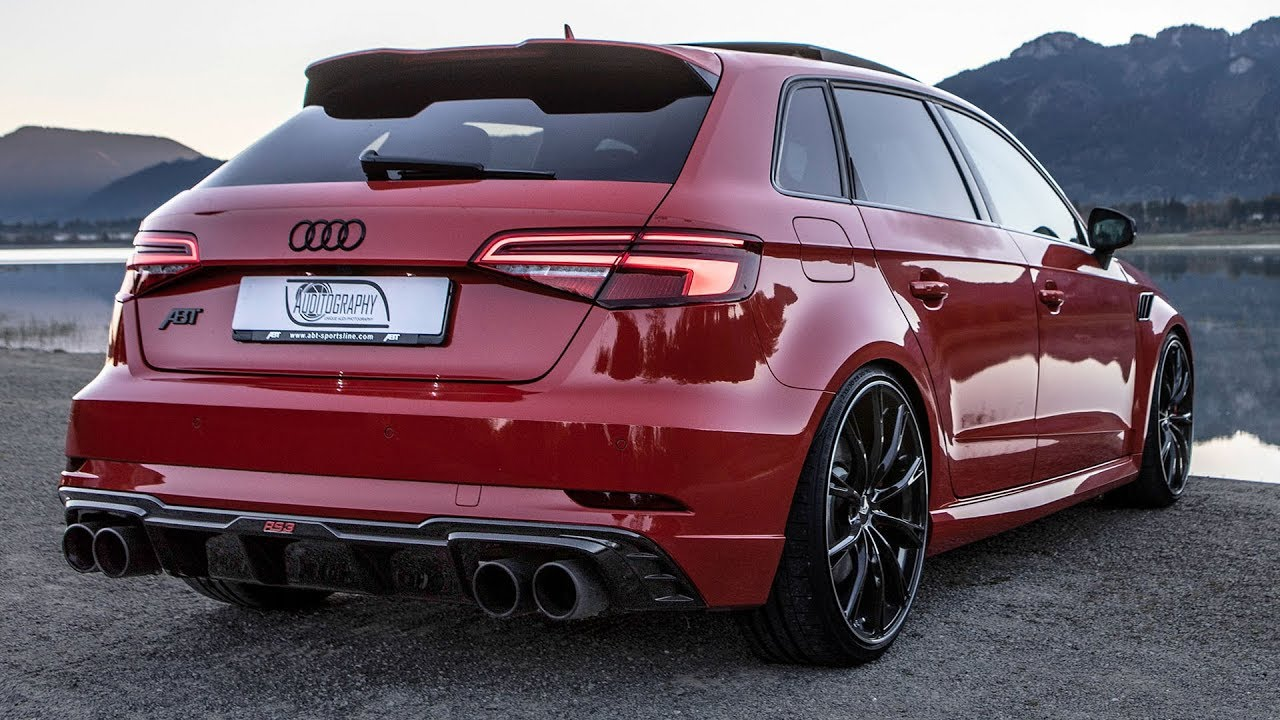 2018 500HP(!) CRAZY BEAUTIFUL AUDI RS3 SPORTBACK ABT ...