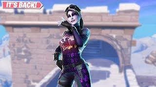 DARK BOMBER SKIN RETURNS GAMEPLAY! NEW LEAKED SKINS ON FORTNITE!! FORTNITE BATTLE ROYALE!!!